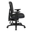 Pro-Line II ProGrid High Back Managers Chair with Leather and Mesh Seat