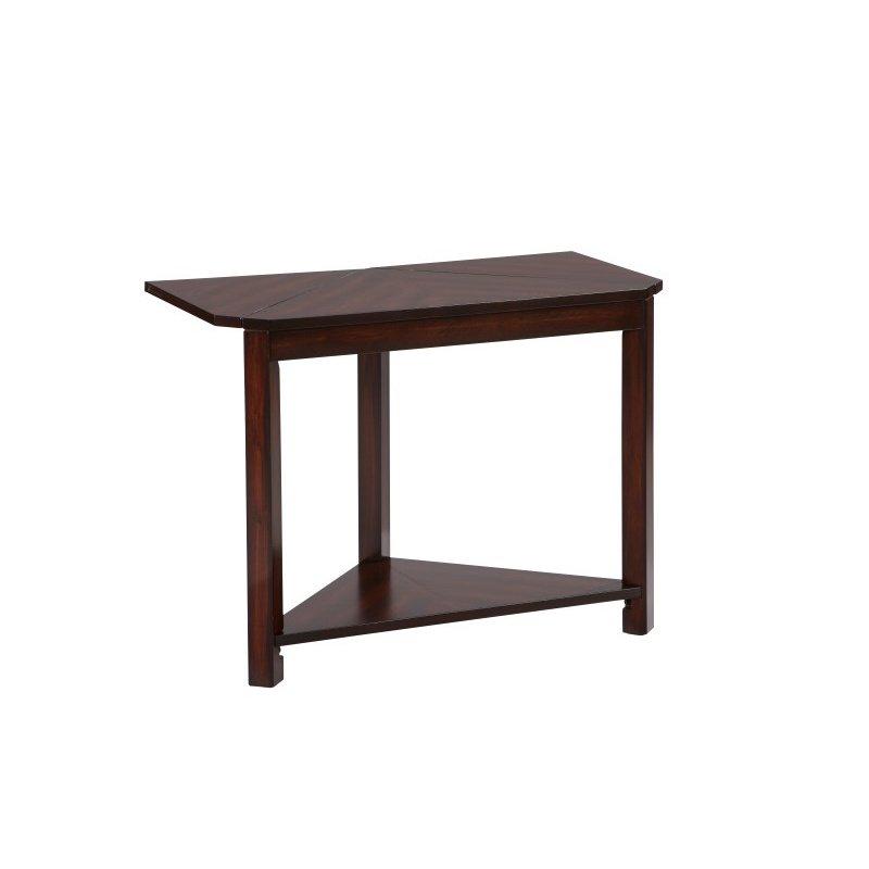 Progressive Furniture Chairsides II Chairside Table in Dark Birch (T400-61)