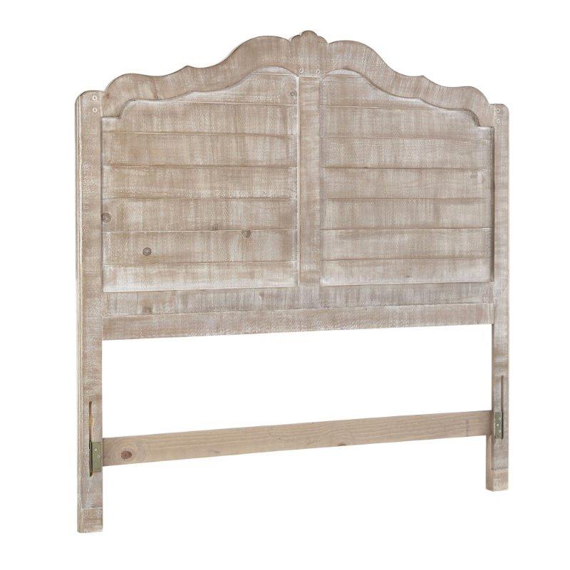 Progressive Furniture Chatsworth Full Headboard only in Chalk (B643-32)