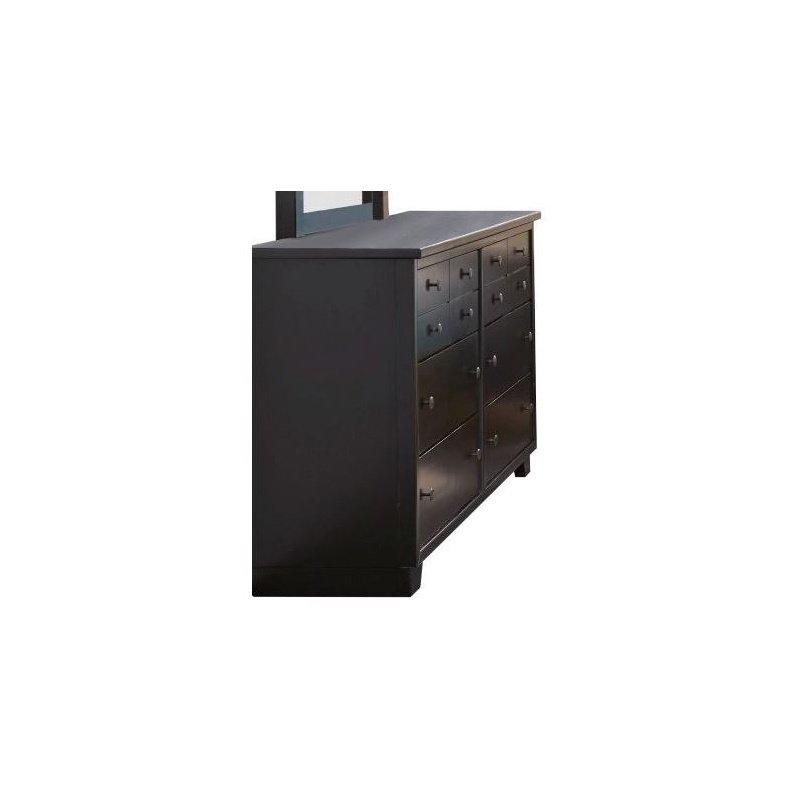 Progressive Furniture Diego Dresser in Black