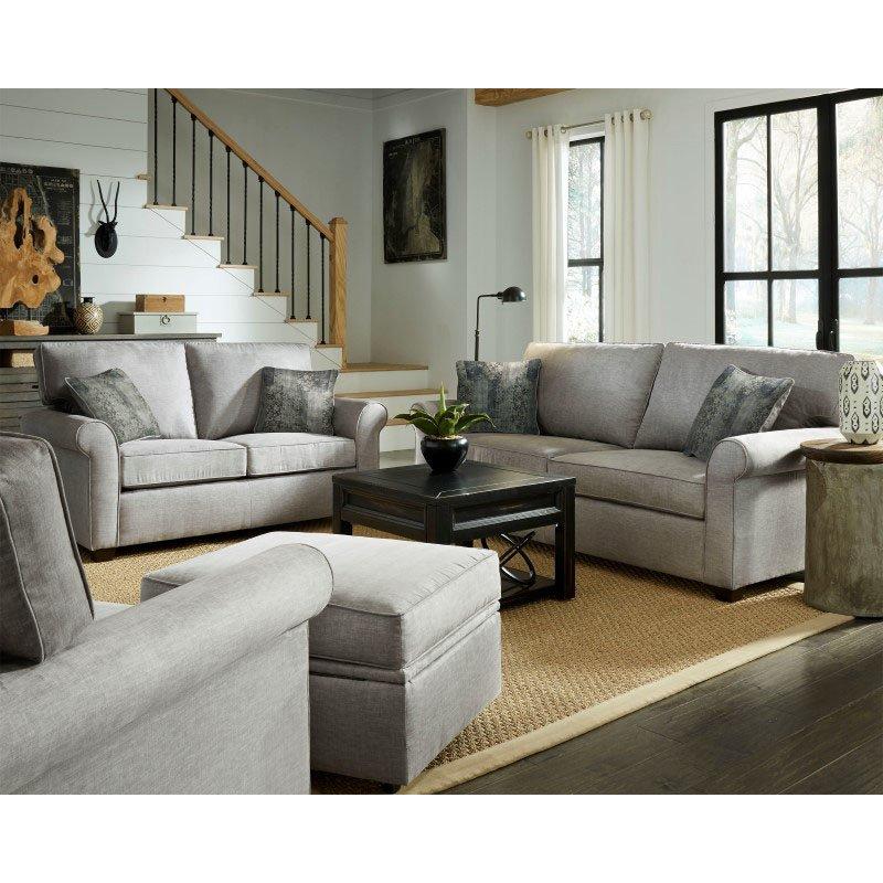 Progressive Furniture Emery Loveseat in Gray (U2012-LS)