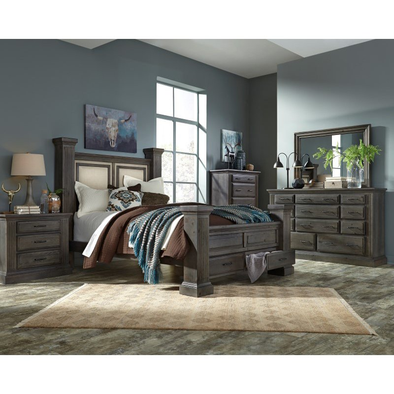 Progressive Furniture Fordham Nightstand in Ash (B648-43)