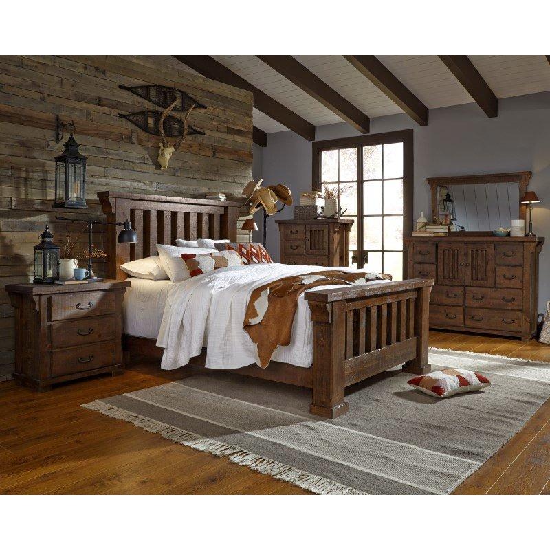 Progressive Furniture Forrester Chest in Tobacco (B631-14)