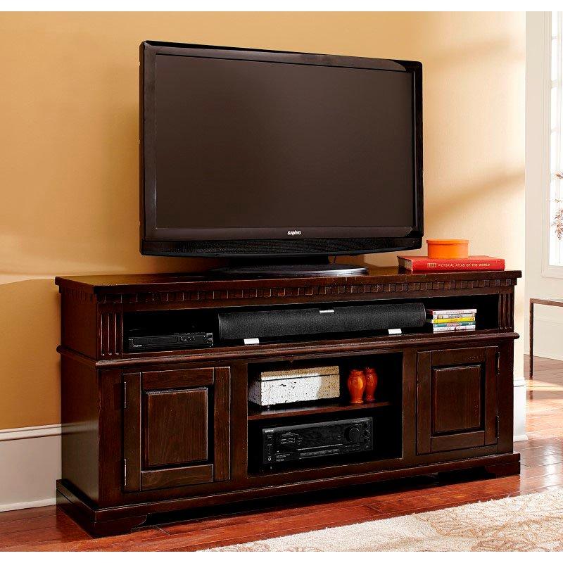"""Progressive Furniture La Cantera 64"""" Console in Tobacco"""