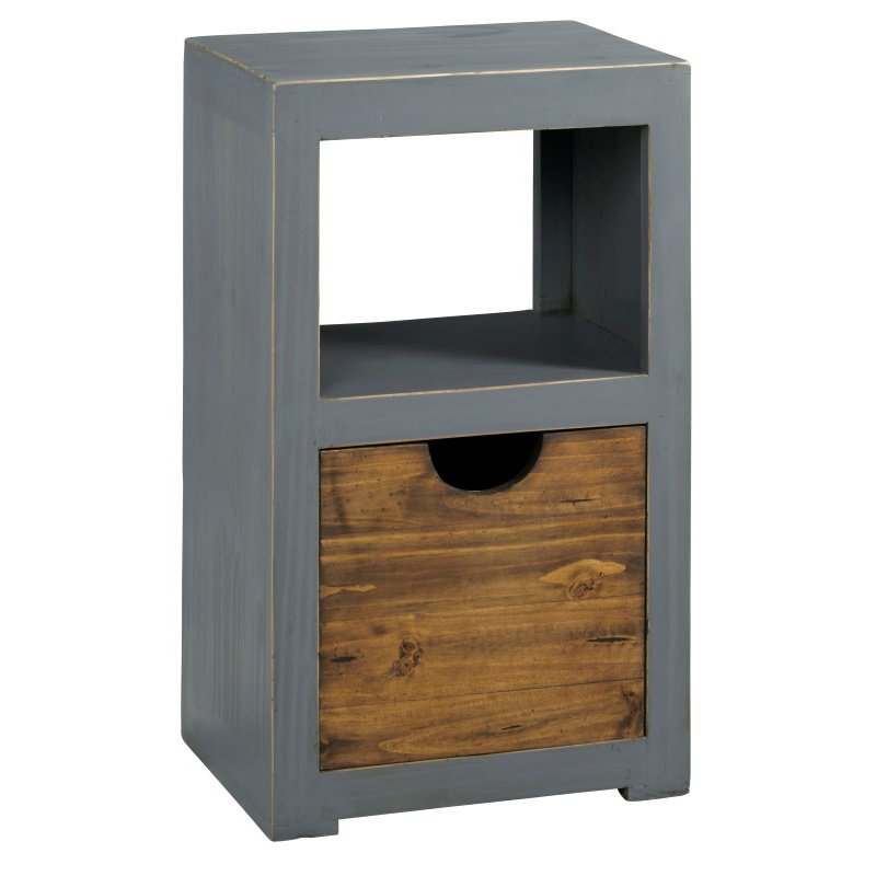 Progressive Furniture Miguel Bunching Storage Display in Slate Gray (A512-29G)
