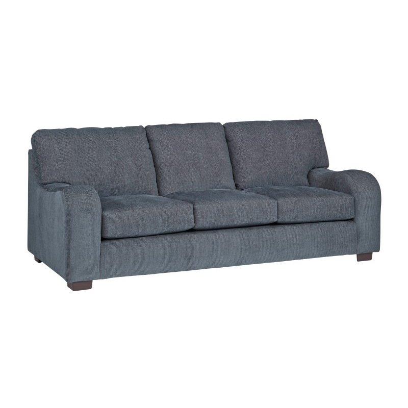 Progressive Furniture Nora Sofa in Grayish Blue Chenille (U2081-SF)