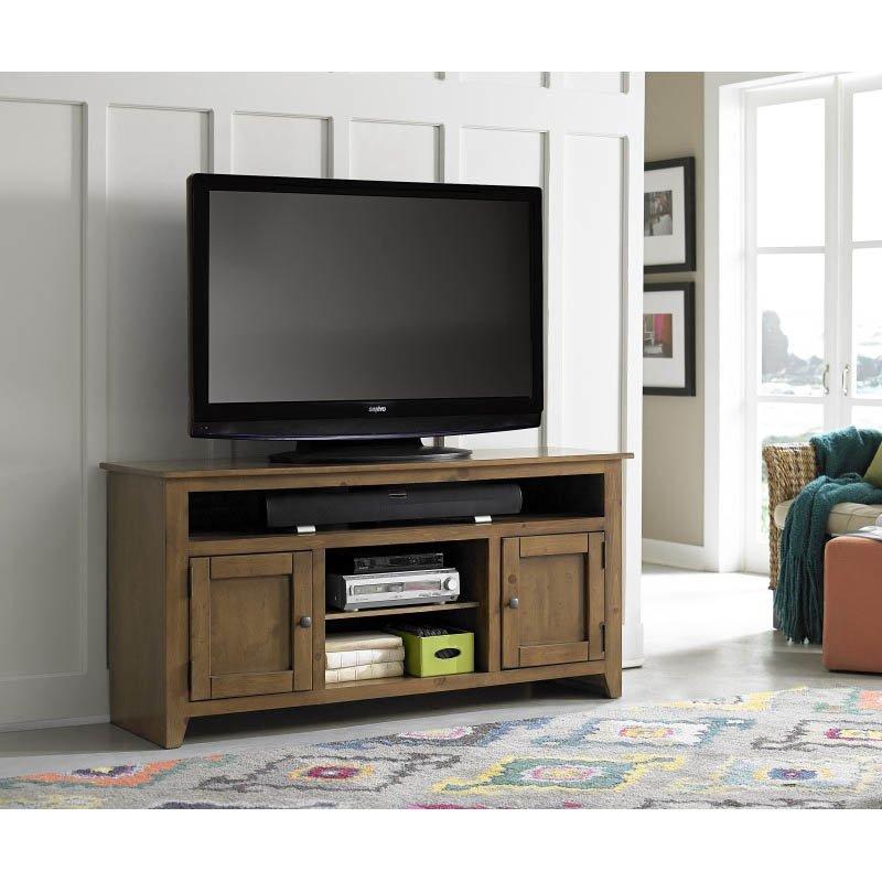 Progressive Furniture Rio Bravo 58 Medium Pine Entertainment in Medium Pine