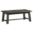 Progressive Furniture River Court Rectangular Cocktail Table in Weathered Smoke (T505-01)