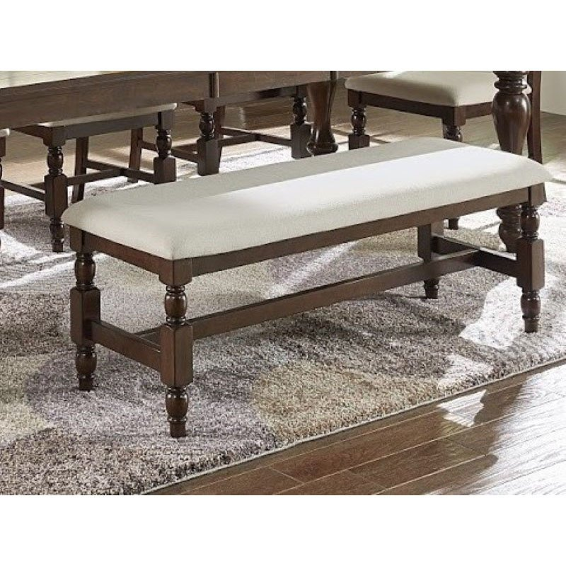 Progressive Furniture Sanctuary Dining Bench in Cherry (D890-69)