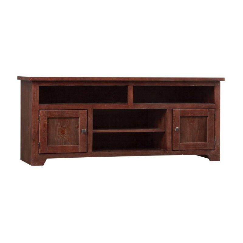 Progressive Furniture Sonoma 60 Console in Espresso Pine