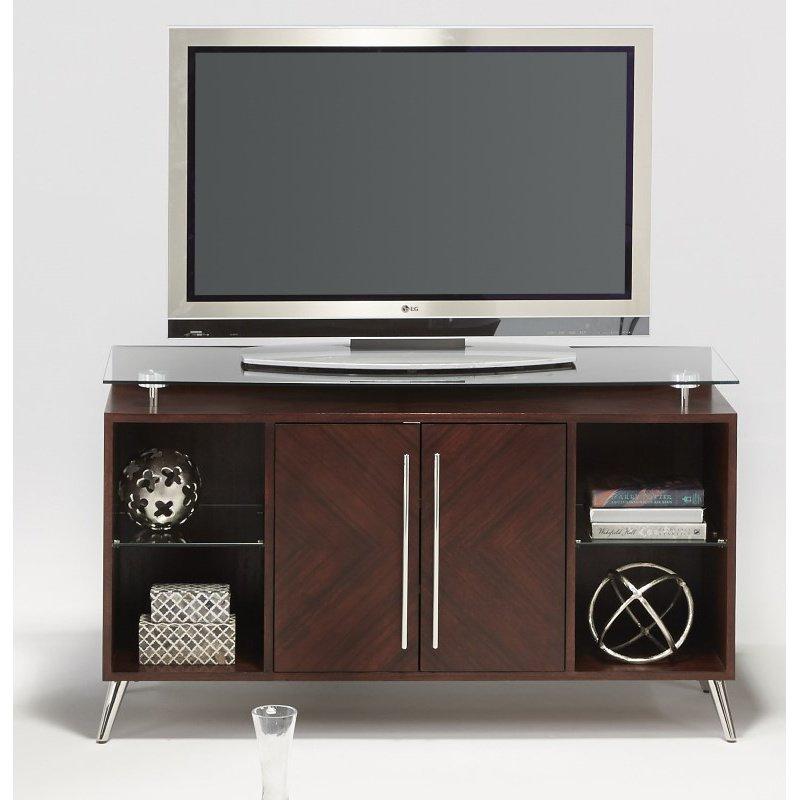 Progressive Furniture Studio City Media Console in Dark Mozambique (T456-57)
