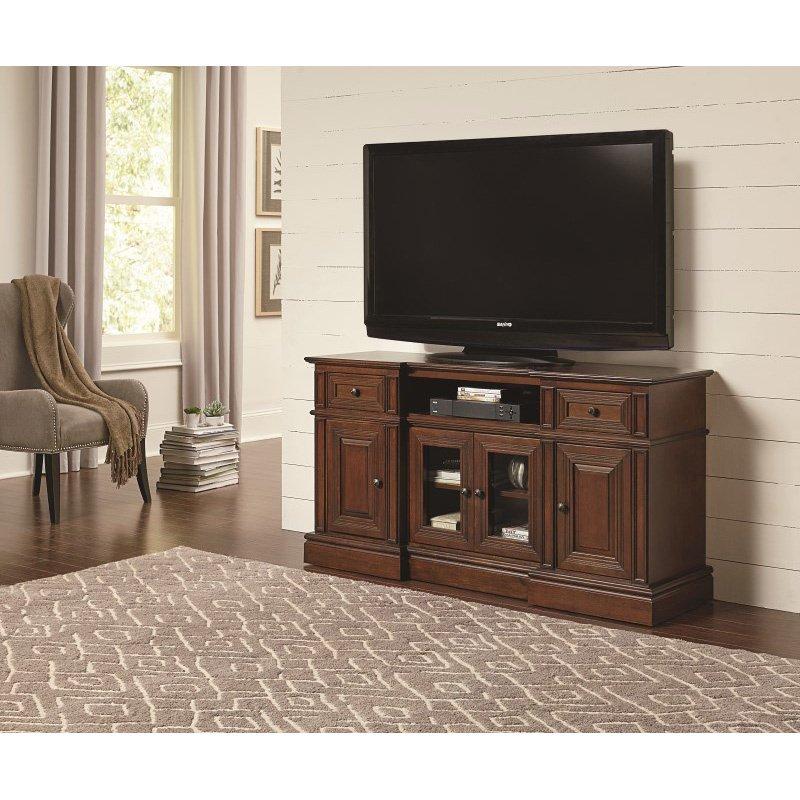Progressive Furniture Sullivan 60 Inch Console TV Stand in Cherry (E797-60)