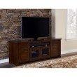 "Progressive Furniture Trestlewood 74"" Console in Mesquite Pine"