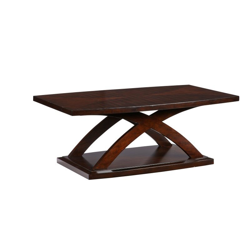 Progressive Furniture West Wind Rectangular Cocktail Table in Espresso (T272-01)