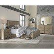 Progressive Furniture Wheaton Queen Heaboard only in Natural (B623-34)