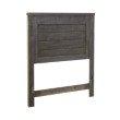 Progressive Furniture Wheaton Twin Headboard only in Charcoal (B622-25)