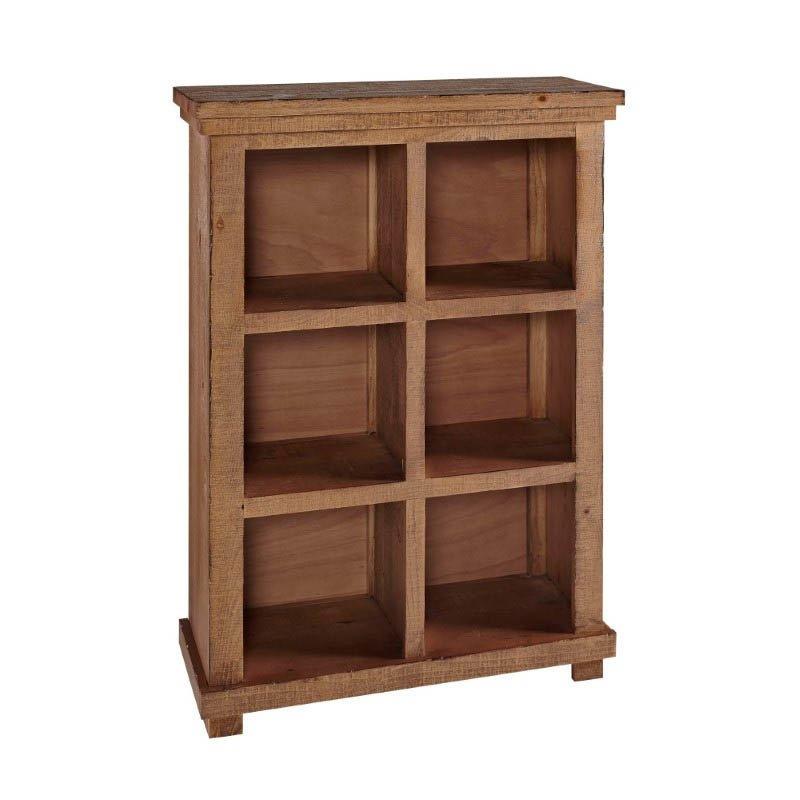 Progressive Furniture Willow Bookcase 48H Pine in Black