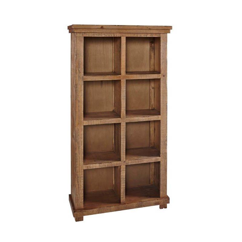 """Progressive Furniture Willow Bookcase 64""""H Pine in Pine"""