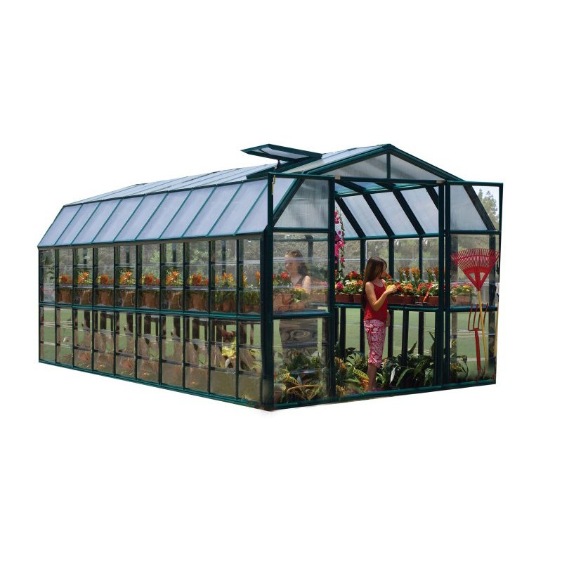 Rion Grand Gardener 2 Clear 8' x 20' Greenhouse