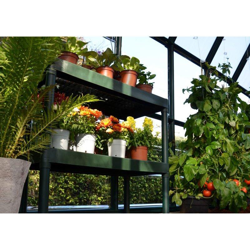 Rion Prestige 2 Twin Wall 8' x 12' Greenhouse