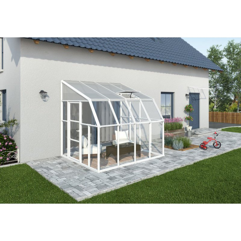 Rion Sun Room 2 - 8' x 8' Greenhouse