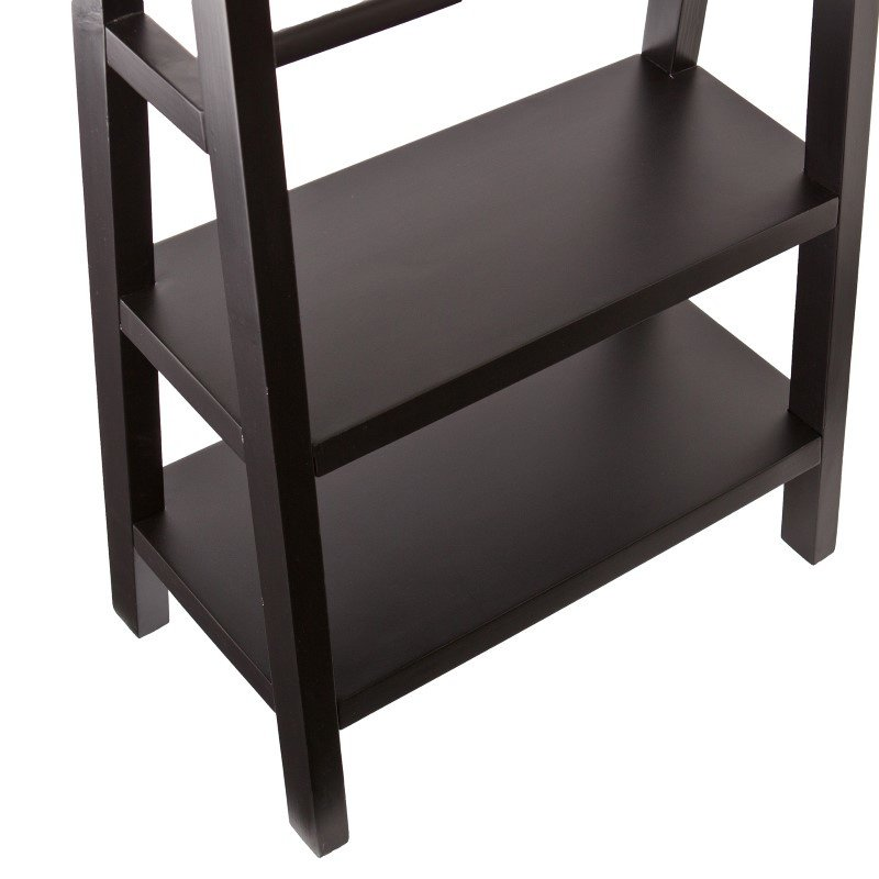 Southern Enterprises Anywhere Storage/Display Ladder in Black