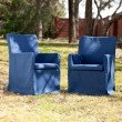 Southern Enterprises Aragon Outdoor Easy Chairs 2-Piece Set