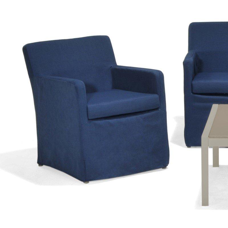 Southern Enterprises Aragon Outdoor Sofa Chairs 2-Piece Set