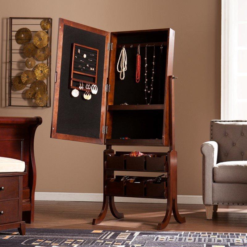 Southern Enterprises Easel Jewelry Mirror