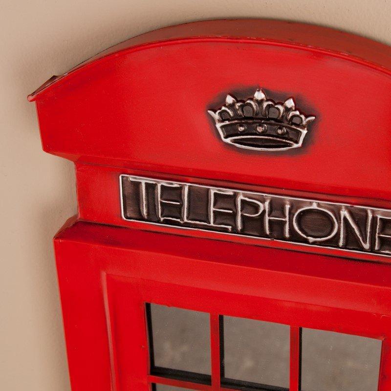 Southern Enterprises Edmond Phone Booth Wall Mirror