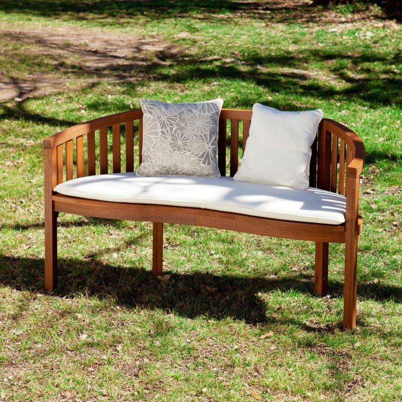 Southern Enterprises Korba Outdoor Bench