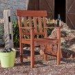 Southern Enterprises Levens Hardwood Arm Chair