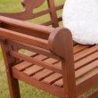Southern Enterprises Lutyens Hardwood 4' Bench