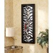 Southern Enterprises Mambo Open Face Wall Mount Jewelry Organizer in Zebra