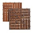 Southern Enterprises Navi Outdoor Floor Tile in 6-Piece Set