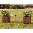 Southern Enterprises Rhea Planter Holder Bench