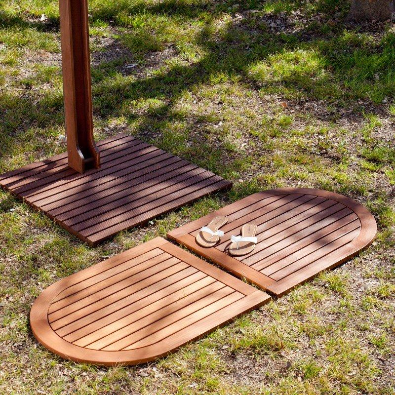 Southern Enterprises Rio Outdoor Floor Tile in 2-Piece Set