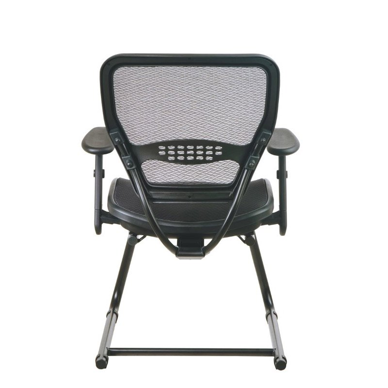Space Seating AirGrid Seat and Back Deluxe Visitors Chair