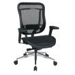 Space Seating Big and Tall Executive High Back Chair with Soft Padded Arms