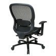 Space Seating Black Mesh Back and with Adjustable Lumbar Support K/D