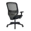 Space Seating Charcoal DuraFlex with Flow Through Technology Back and Seat Chair