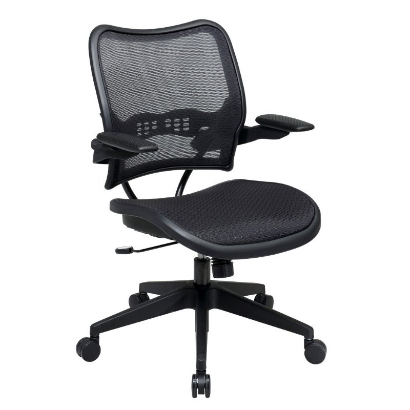 Space Seating Deluxe AirGrid Seat and Back Chair with Cantilever Arms