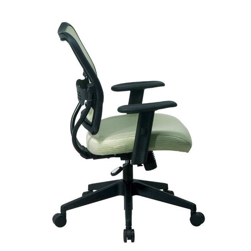 Space Seating Deluxe Chair with Kiwi VeraFlex Back and VeraFlex Fabric Seat