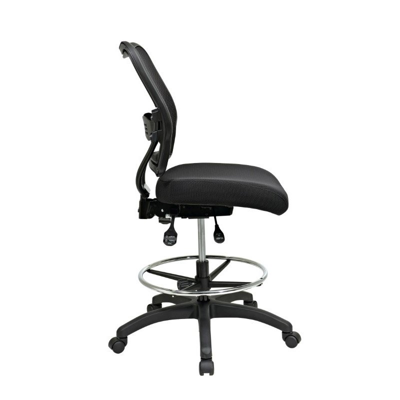 Space Seating Deluxe Ergonomic AirGrid Back Drafting Chair