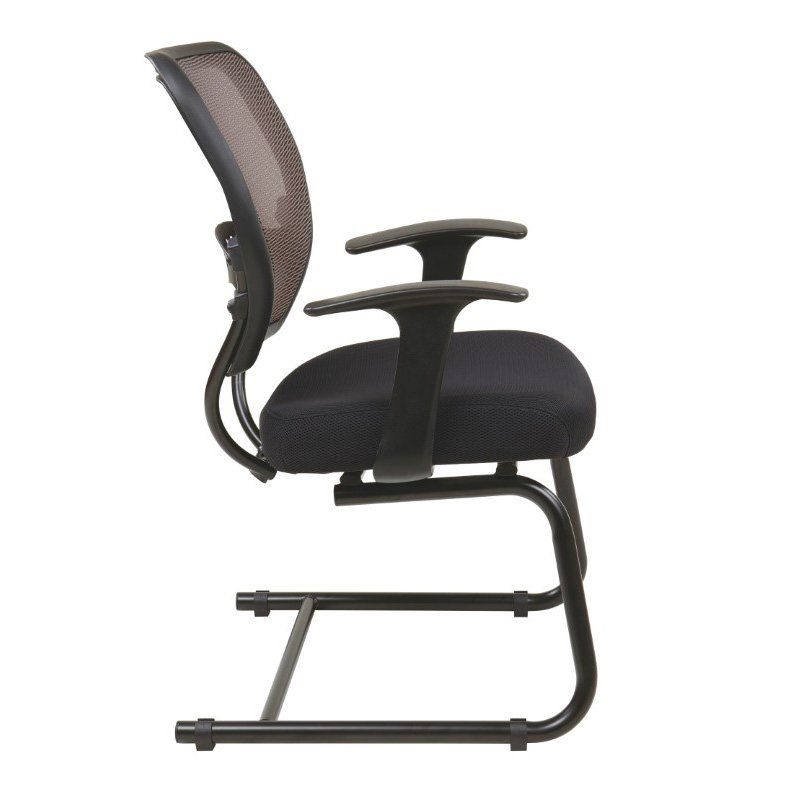 Space Seating Professional Latte AirGrid Back Visitors Chair