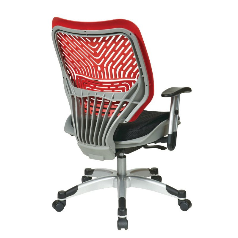 Space Seating Unique Self Adjusting Cosmo SpaceFlex Back and Raven Mesh Seat Managers Chair