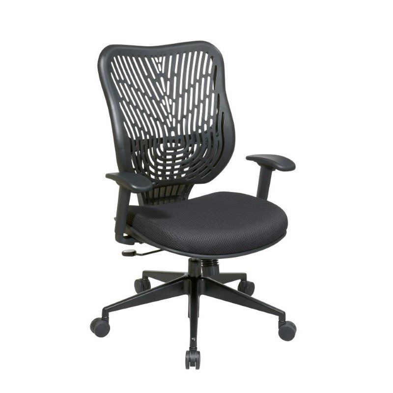 Space Seating Unique Self Adjusting Raven SpaceFlex Back and Raven Mesh Seat Managers Chair