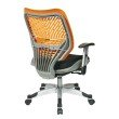 Space Seating Unique Self Adjusting Tang SpaceFlex Back and Raven Mesh Seat Managers Chair