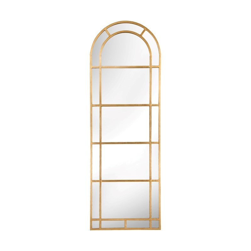 Sterling Industries Arched Pier Mirror in Gold