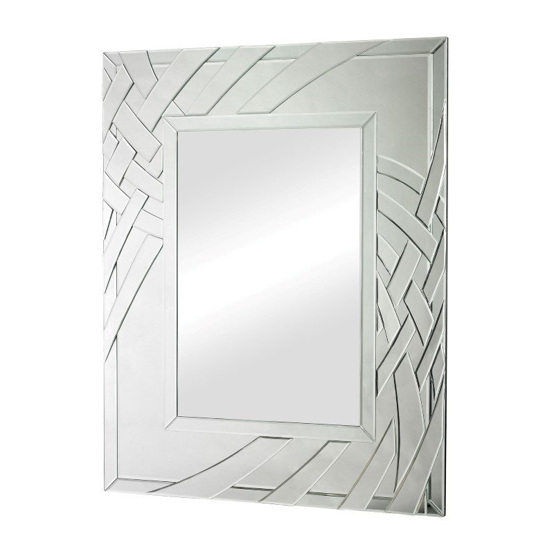 Sterling Industries Arched Ribbons Beveled Edge Mirror